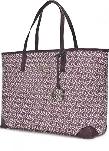 Guess DG456324 Sac Shopper Femme Rouge