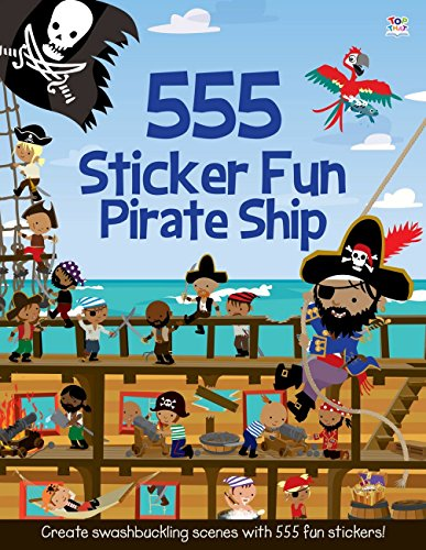 555 Sticker Fun: Pirate Ship