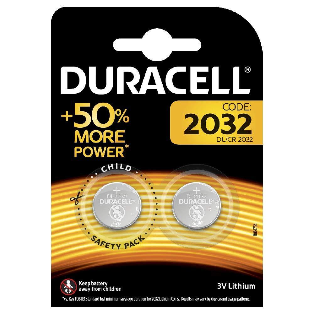 Duracell – Pila de botón de Litio Tipo 2032