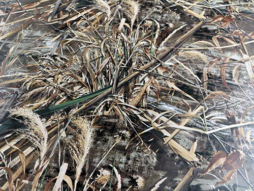 3D Realtree Camouflage Folie Matt Version 4,Car Wrapping Gras, Schilf,Tarnfolie 0,5m x 1,52m
