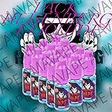 Pack 5 E-liquides Heinsenberg 0mg 10ml Vampire Vape + 1 Liquide Surprise AMAVAPE - Sans nicotine ni tabac - Vente interdite au moins de 18 ans - AMAVAPE