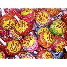 ChupaChups Lollipops, Paquete de 75 - Sabores Mezclados Que Incluyen Cola, Fresa y Fresa
