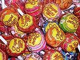 Chupa Chups Lollipops, confezione da 75 - Aromi misti tra cui Cola, Fragola e Fragola e Crema, ideale per riempitivi per sacchetti da party.