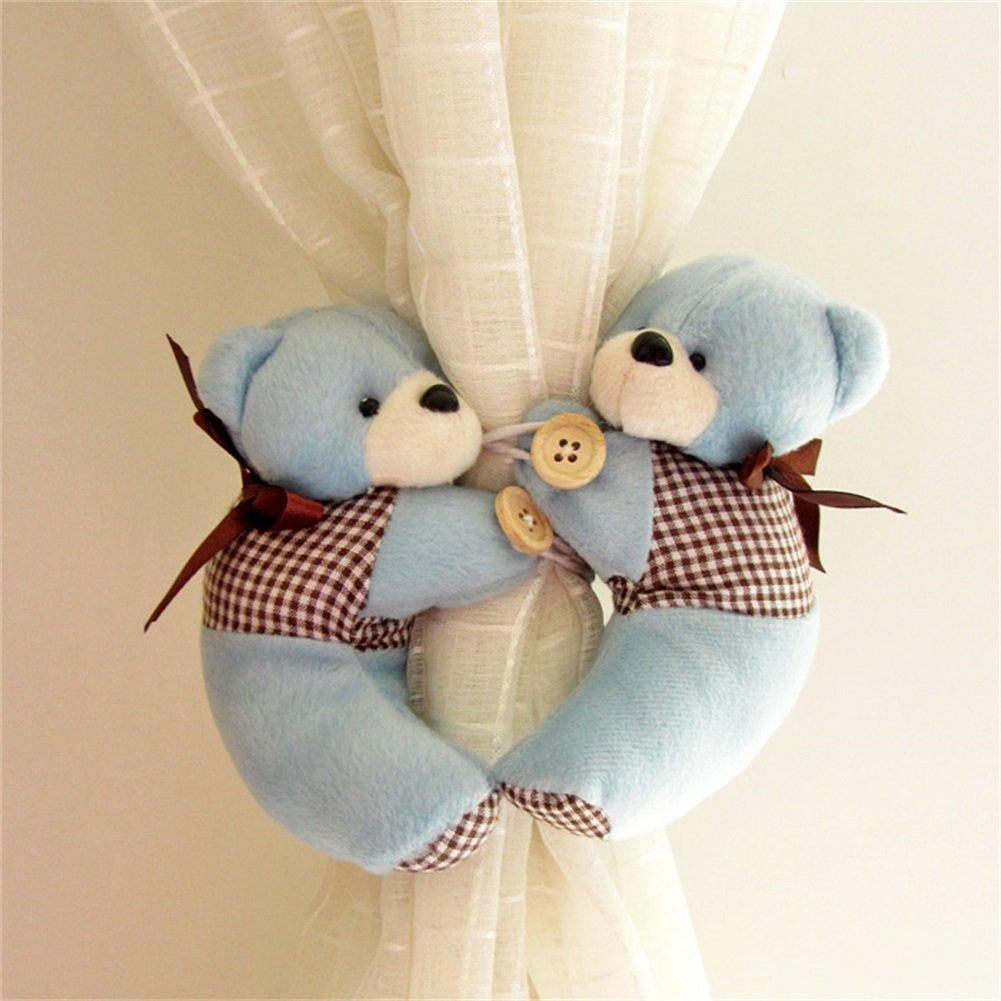 Amazon.de: YunNasi 1 Paar Super Nettes Vorhang Raffhalter Schnalle Süße  Idee Fürs Baby Kinderzimmer