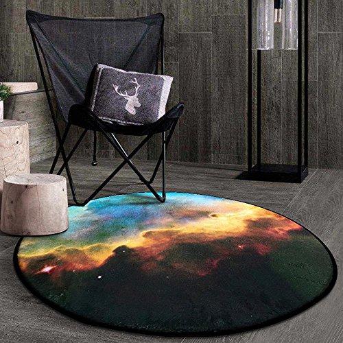 Hängende Pool-tisch (KK&MM Mode-Runde Teppich, Mond-Stil Schlafzimmer Tisch Pad, Wohnzimmer Nachttisch Hängenden Korb Garten Decke, Gehirn Decke (150 cm), B, 150cm)