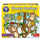 Orchard Toys Cheeky Monkeys Spiel, englische Version