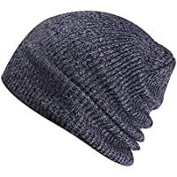 50507f7de3175 Leisial Sombreros de Punto Sport Aire Libre Caliente Suave Gorro de Tejido  de Punto de Esquí