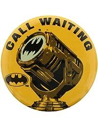 Batman Badge DC Comics Call Waiting 3.1 cm