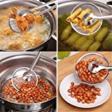 from Hengsong HENGSONG Food Skimmer Strainer Spoon with Clip Stainless Steel Kitchen Tools