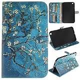 Skytar étui Tab3 8 Pouces,Coque Galaxy Tab 3 8.0 - PU Cuir Cover Case Stand Etui...