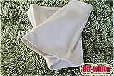 WGE Ultra-sottile addome con traspirante caldo sonno caldo Palace caldo ventre cintura, unisex, caldo ventre cintura, Offwhite