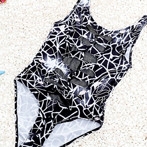 Baymate Damen Badeanzüge Push up Bademode Bikinis Sets Strandmode Bathing Suit Tauchanzug Bunt