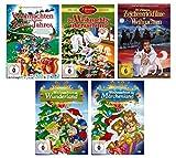 Unsere schönsten Kinder Zeichentrickfilme zu Weihnachten ( Der Geschenk Tipp - 23 Weihnachtsfilme ) [5 DVDs]
