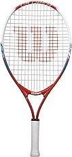 Wilson Us Open  Tennis Racquet, 23 inch