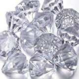 Acrylic Diamonds Crystals for Party Supplies Decorations/Costume Stage Props/Vase Fillers/Wedding Decorations -20pcs by FUNLAVIE