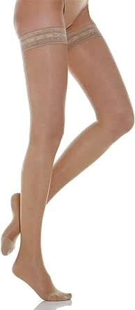 Relaxsan Basic 770 calze elastiche autoreggenti 70 Den compressione graduata 12-17 mmHg