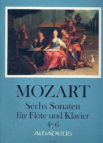 6 Sonaten Band 2 (Nr.4-6) : für Flöte und Klavier (Flöte Vier Und Sonaten Klavier Für)