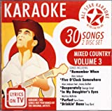 All Star Karaoke: Mixed Country Volume 3 by Various Artists