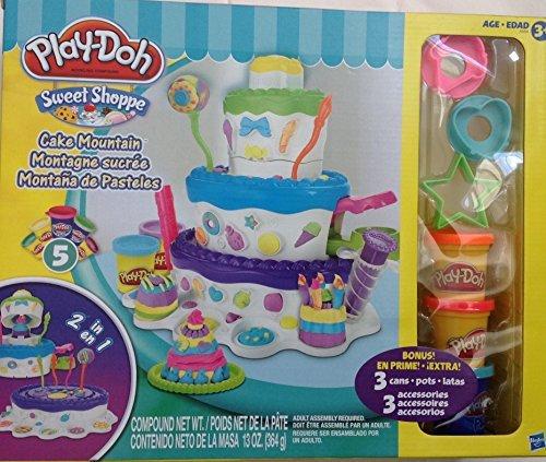 Play-Doh Sweet Shoppe Cake Mountain Playset Exclusive Bonus by Play-Doh (Play-doh Sweet Shoppe)
