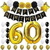 Zum 60. Geburtstag Party Dekoration-