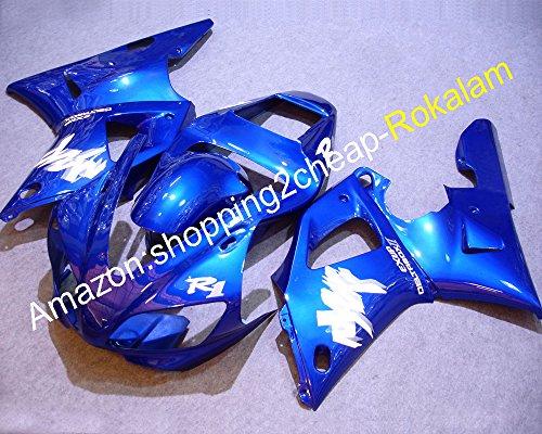 98 99 Yzf1000 gratuit personnalisée kit de Carénage pour YZF R1 1998 1999 Yzf-r1 Carénages de moto (Moulage par injection)