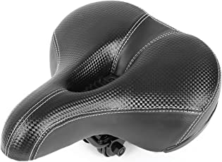 Zorbes Bike Bicycle Cycling MTB Wide Soft Thicken Sponge Saddle Cushion Seat