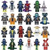 24 pcs todwish ninjago mini figures lloyd pythor - Best Reviews Guide