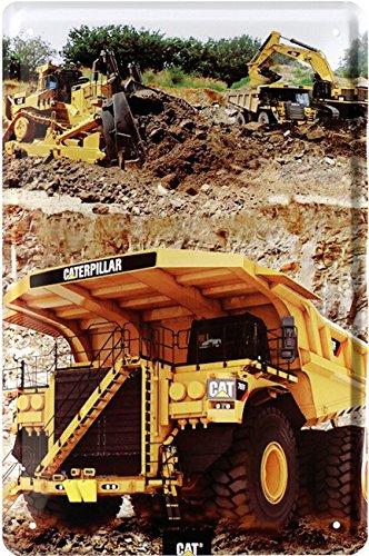 caterpillar-gigant-truck-monster-camion-plaque-de-20-x-30-retro-tole-1714
