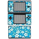 Nintendo DS-Lite Design Skin 'Hawaï bleu' Autocollant Sticker pour DS-Lite