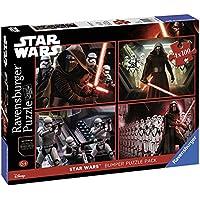 Ravensburger Italy 06850 0 - Quattro Puzzle di Star Wars