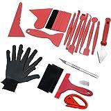 Beilan Auto Vinyl Wrap Tool Window Tint Kit, Wrap Stick Micro Mini Squeegee Set voor Auto Film Tinting Scraper Application In