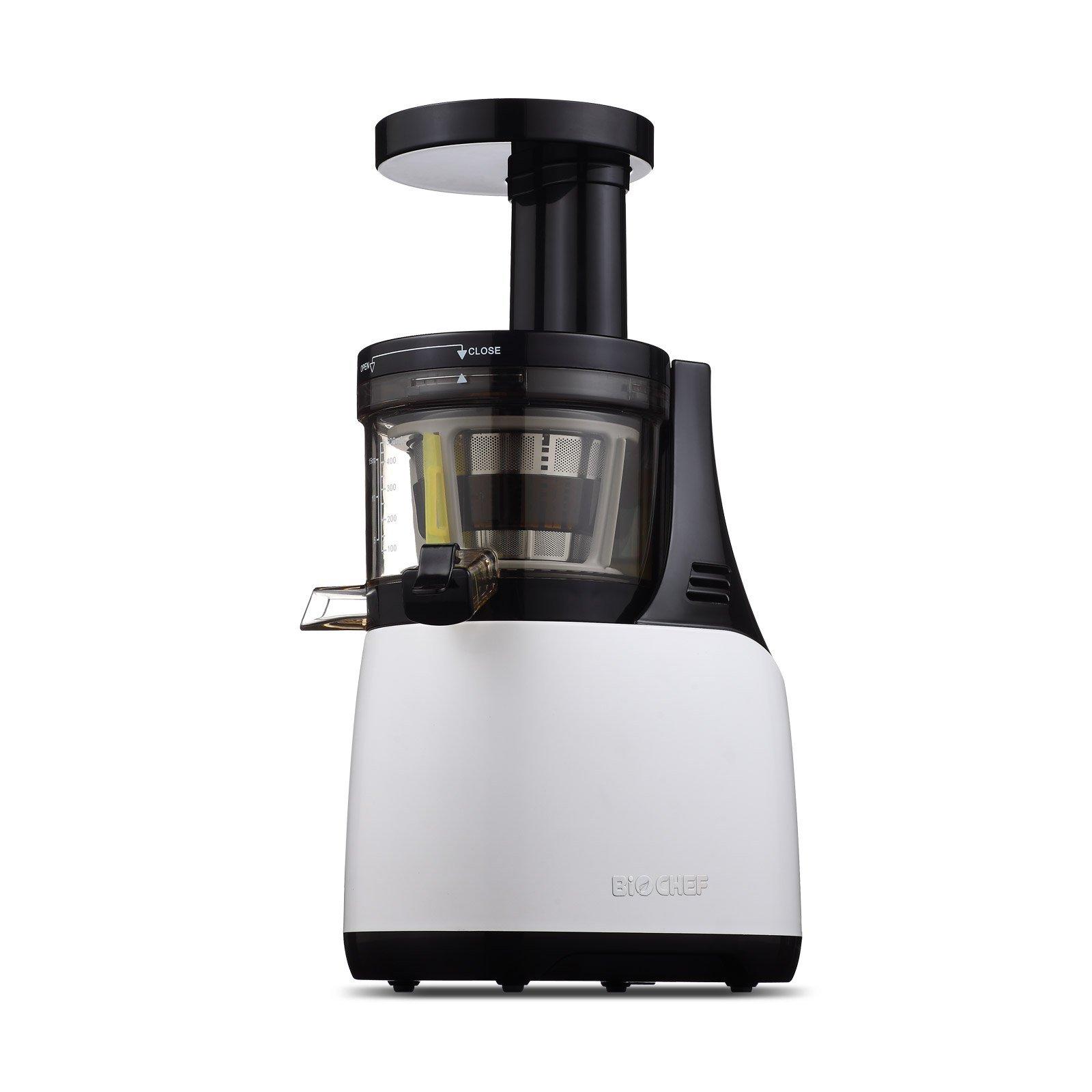 Estrattore di succo, BioChef Synergy-Slow Juicer, Estrattore di succo, lento, silenzioso, con sprem