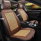 QXXZ Autositzbezüge, Kühlung Bambus Auto Sitzbezug 1Pcs, A