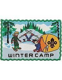 Scouting Winter Camp Fun Badge - Collectors Item!