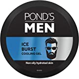POND'S Men Ice Burst Cooling Non-Oily Hydrated Soothing Face Gel, 55 g