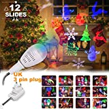 Christmas Projector Lights Holloween, Starry Spot Outdoor Garden Light Pattern Light for Different Theme | Light for Christmas, Holiday, Party Wedding Decoration