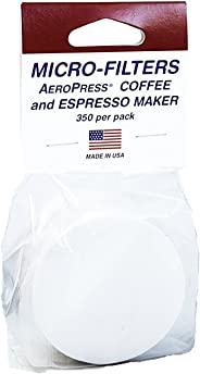 AeroPress TKC81R24 Filter Papers, Pack of 350, White