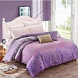 Puro algodón solo duvet cover/Otoño e invierno algodón edredón individual/ cómodo y respirable edredón-J 150x210cm(59x83inch)