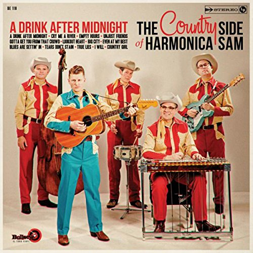 A Drink After Midnight (VINYL) - The Country Side Of Harmonica Sam - 2017
