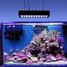 Roleadro 165w Luci LED Acquario Regolabile 7 Band Plafoniera Led Acquario Adatto a per Acquario Pesci Marino Tropicali 400x212x60mm - Acquario Sistema Di Illuminazione