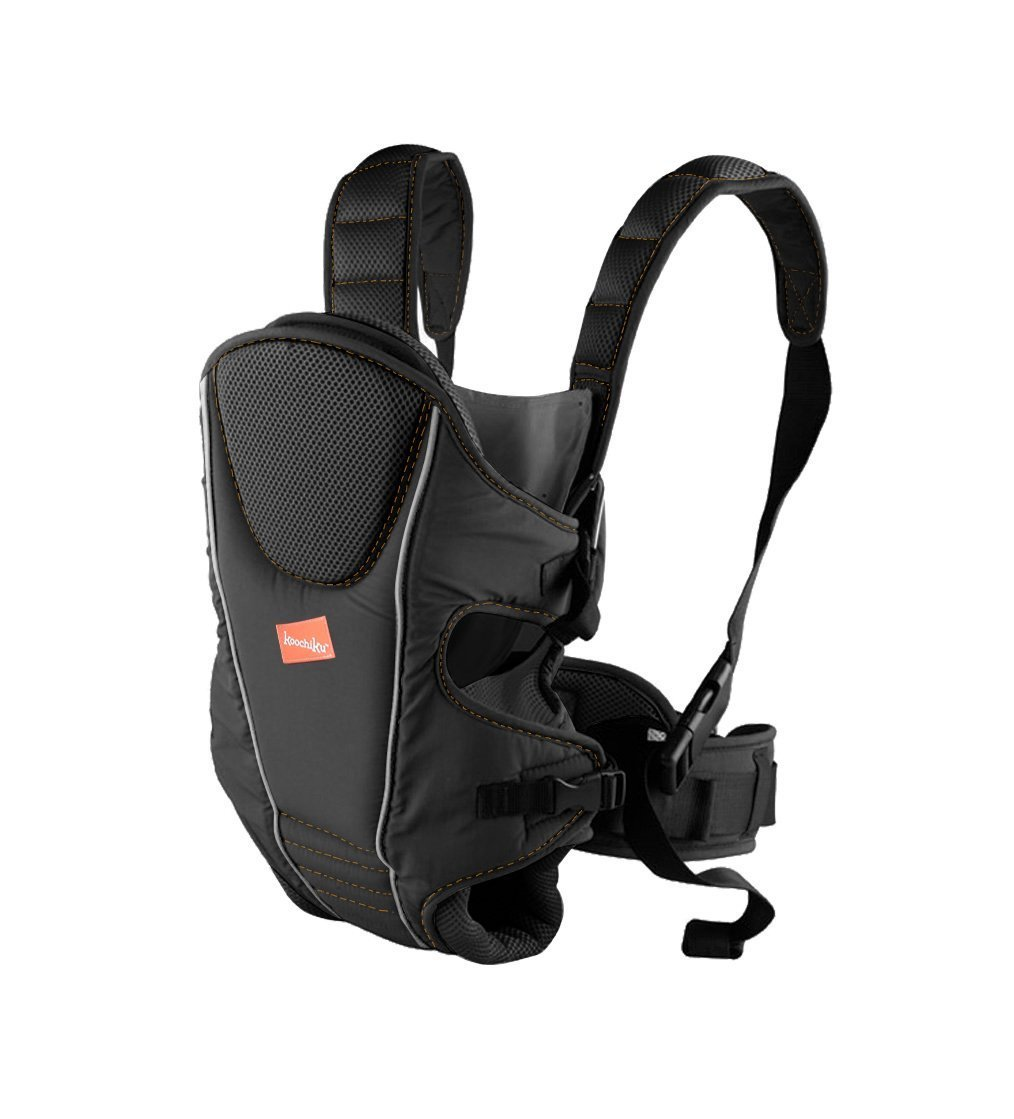 Babyway Baby Carrier 3-in-1  Suitable from birth Baby can face in/out/or be on your back Cushioned head rest and leg openings - with padded Supports 1