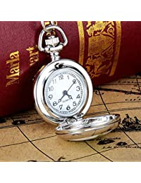 ShopyStore Europe And The New Christmas Tree Pattern Patch Quartz Pocket Watch Mirror Pocket Watch S