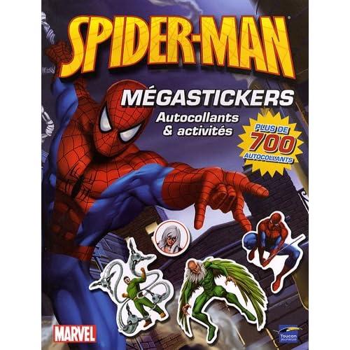 Spider-man Mégastickers : Autocollants et activités