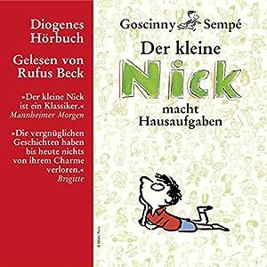 Der kleine Nick macht Hausaufgaben: Der kleine Nick