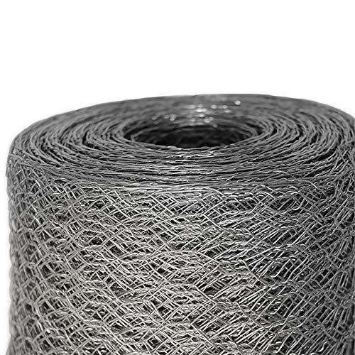 Mammut® Drahtzaun/Sechskant-Geflecht | Maschenweite 13 mm | Gartenzaun | Länge und Höhe wählbar
