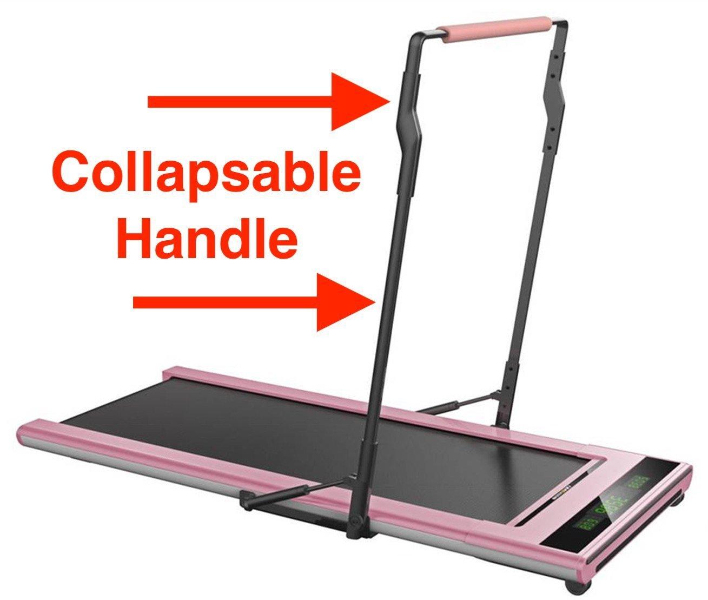 61ye6Fr33RL - Slim Tread Ultra Thin Smart Treadmill Running Machine Portable
