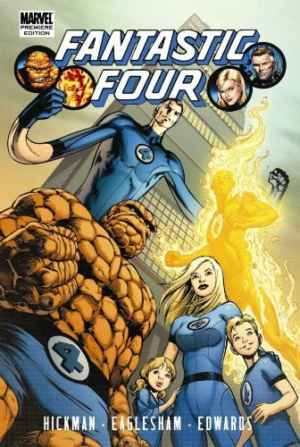 Fantastic Four By Jonathan Hickman Volume 1 Premiere HC by Jonathan Hickman (March 10,2010)