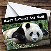 Gorgeous Panda Personalised Birthday Card
