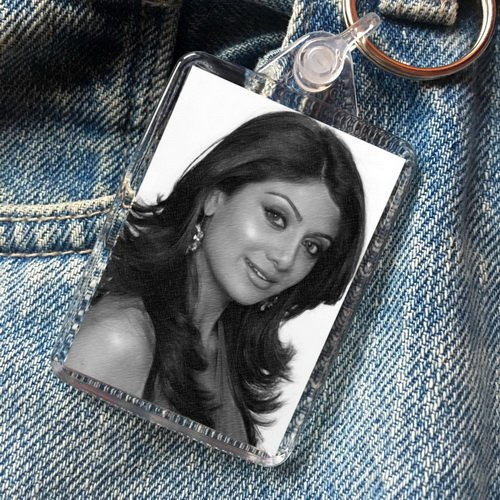 Seasons SHILPA SHETTY - Original Art Keyring #js001