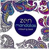 Tiptiper Libro de colorear, 24 páginas Libro de colorear antiestrés Fantasía Zen Libro de pinturas Mandalas Graffiti